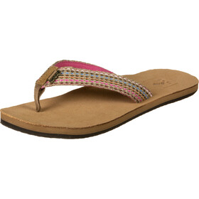 Reef Gypsylove Teenslippers Dames, pink